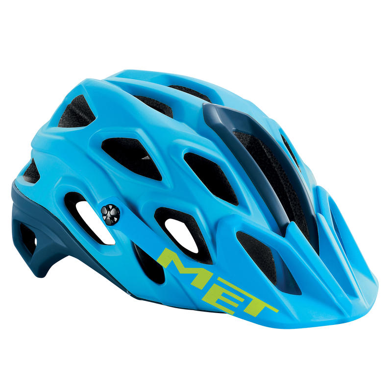 Lupo Bicycle Helmet Cyan/petrol blue