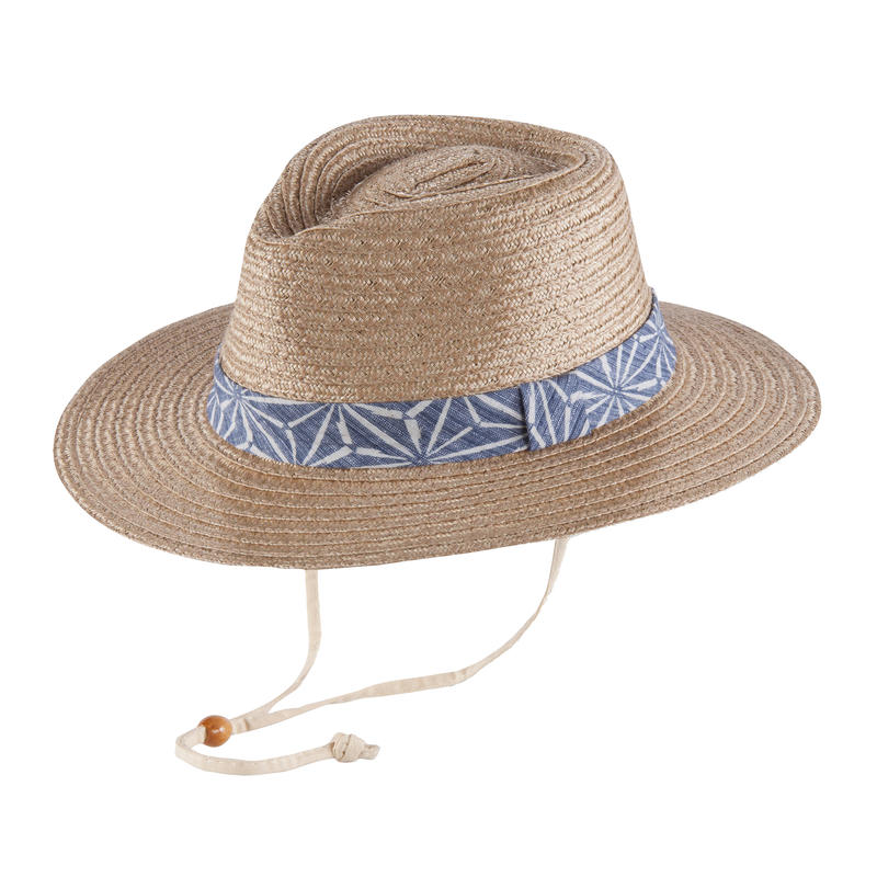Nala Hat Natural/Blue