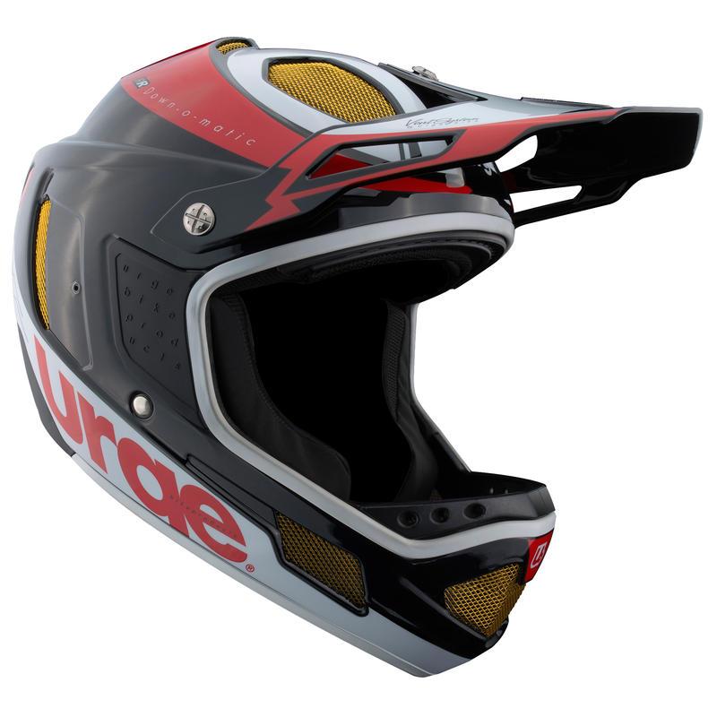 Casque de vélo Down-O-Matic RR Noir/Rouge/Blanc