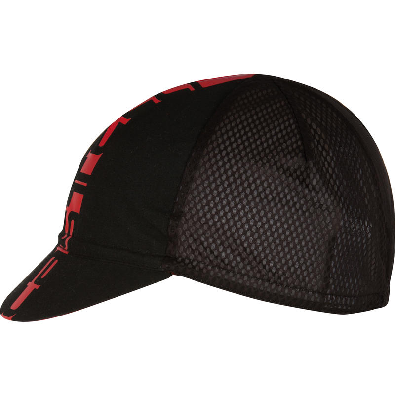Inferno Cycling Cap Black/Red