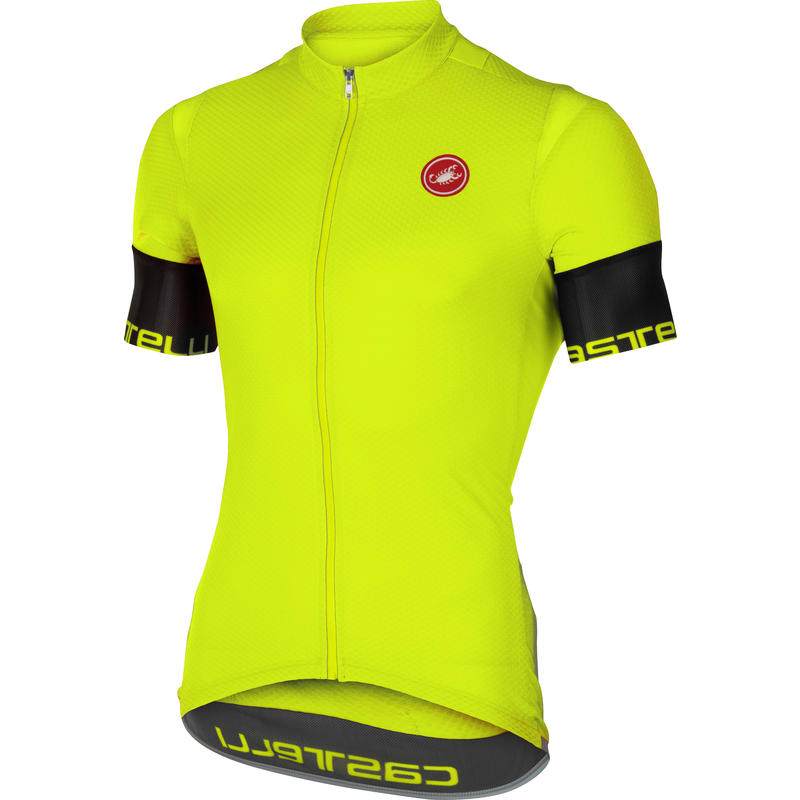 Entrata 2 SS Jersey FZ Yellow Fluo