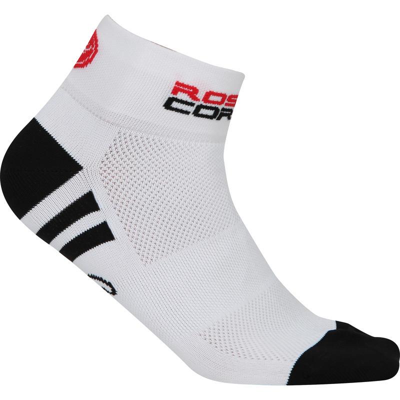 Rosa Corsa Socks White