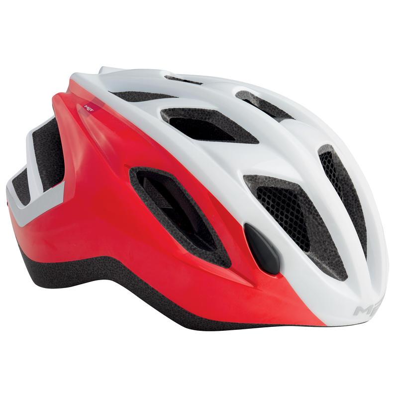 Espresso Helmet White/Red