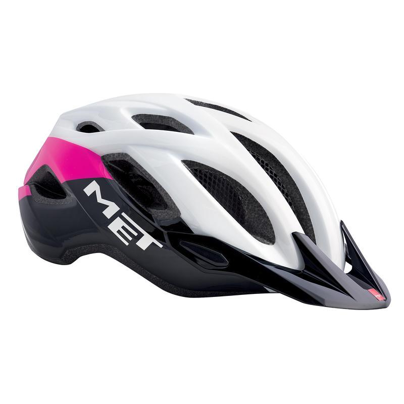 Crossover Helmet White/pink/black