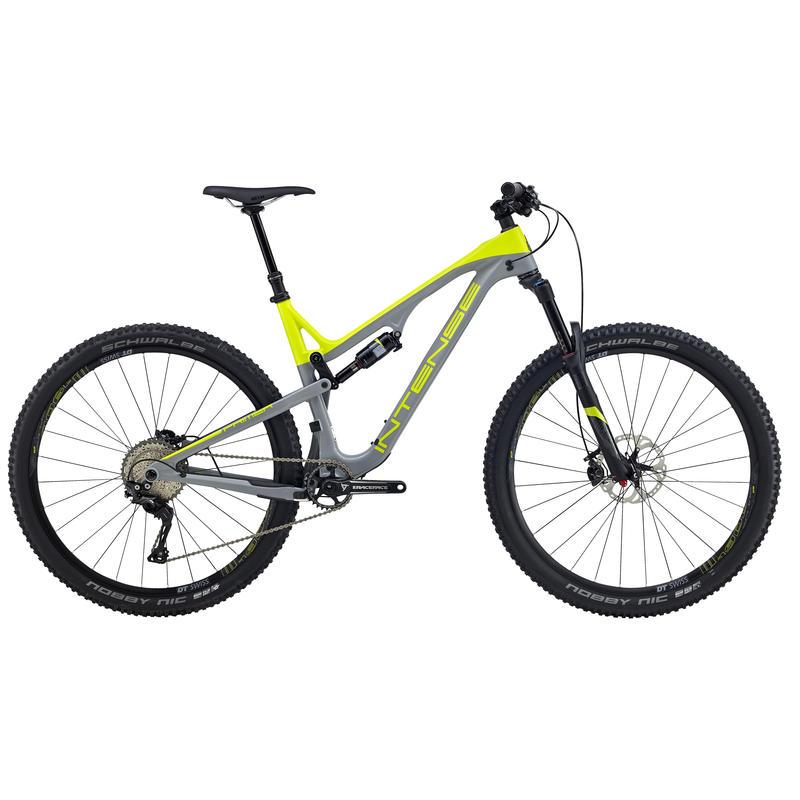 Vélo Primer - version Expert Jaune/Gris