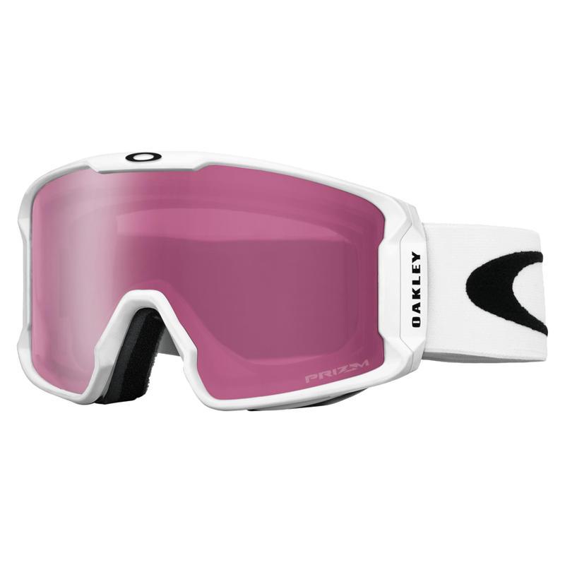 Lunettes de ski LineMiner Blanc mat/Rose Prizm