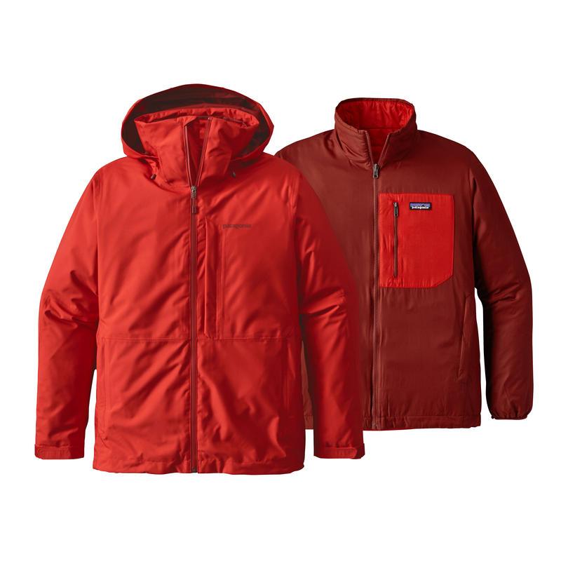 Manteau 3-en-1 Snowshot Rouge Ramble