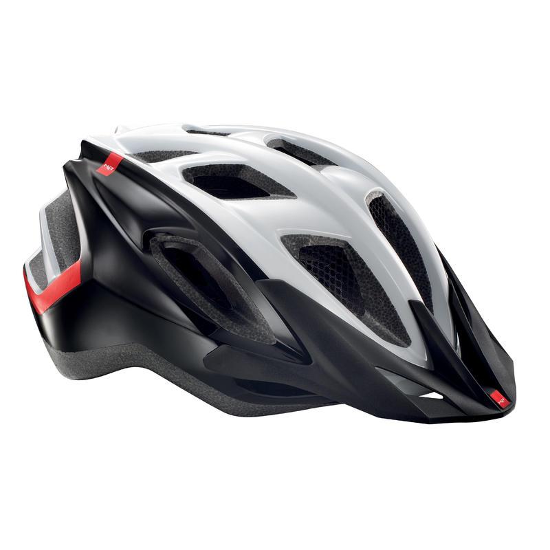 Funandgo Helmet white/black/red