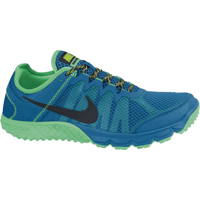 Zoom Wildhorse Trail Running Shoes Military Blue/Lucid Green