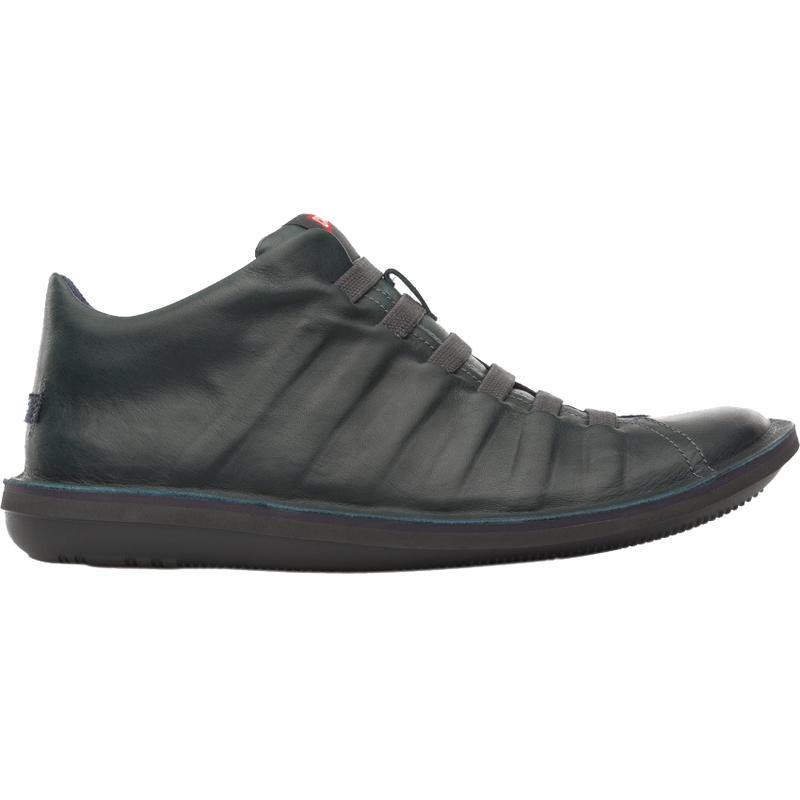 Beetle 36678 Shoe Dark Green/Dark Brown