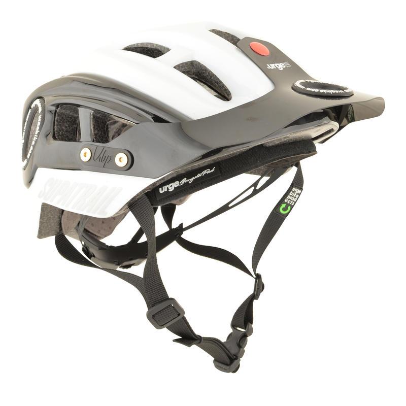 Supatrail Cycling Helmet White/Black
