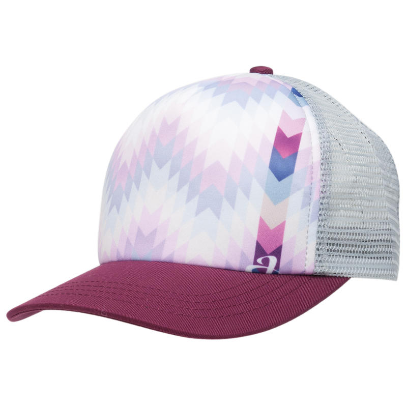 Aurora Trucker Hat Plum