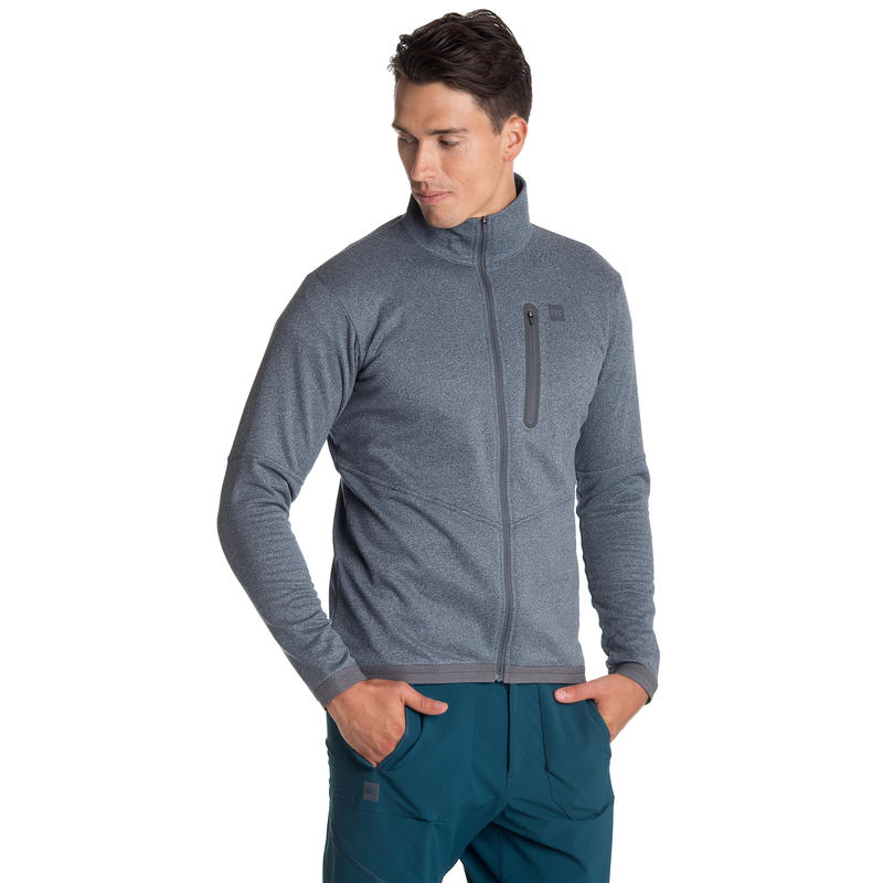 Manteau Powderstream Bleu profond chiné