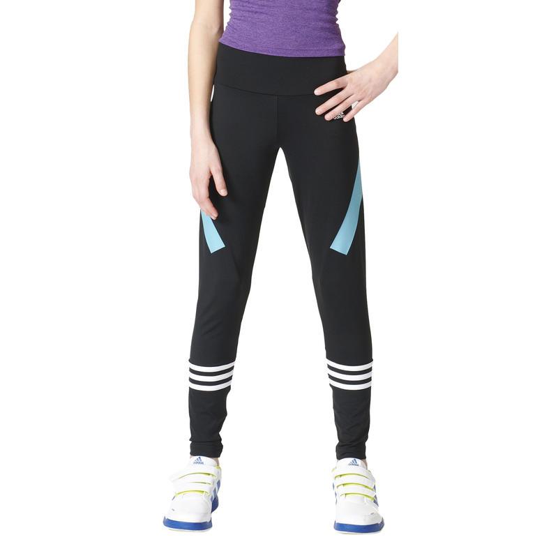 Collant Athletics Noir/Blanc/Bleu vapeur