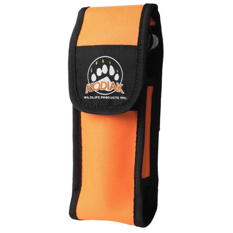 Étui en nylon pour vaporisateur chasse-ours de 225 Orange
