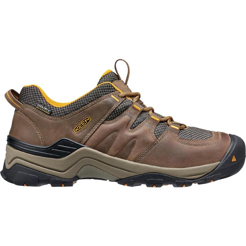 Chaussures de randonnée Gypsum II Wp Shiitake/Jaune doré