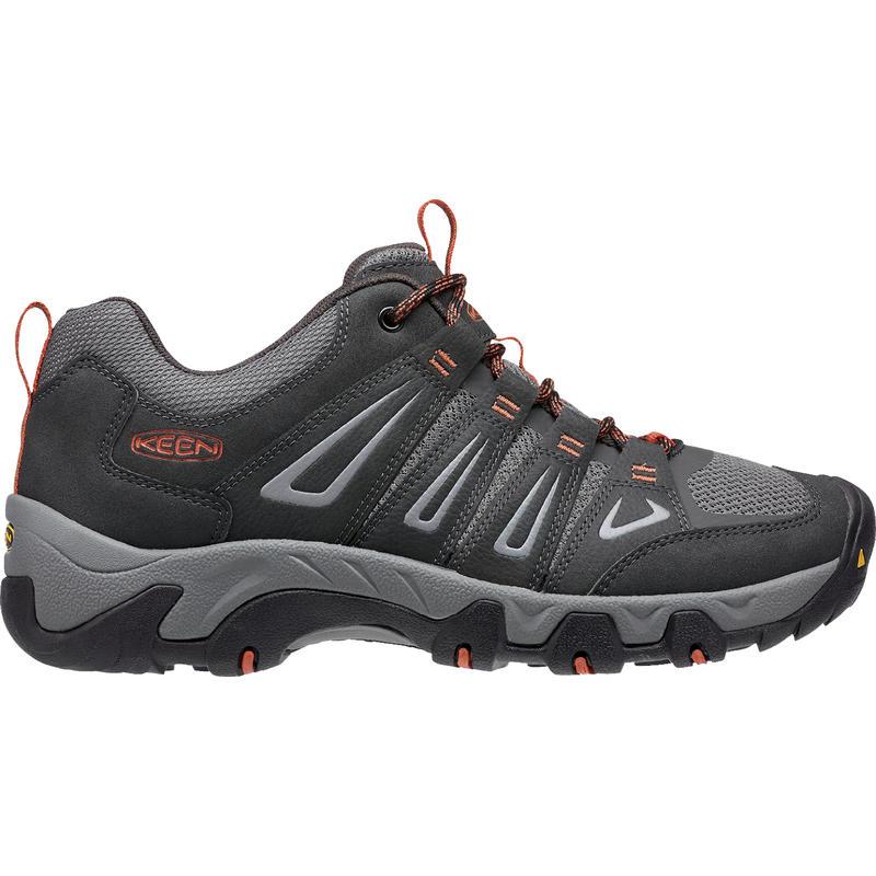 Chaussures de randonnée légère Oakridge Corbeau/Ocre brûlé