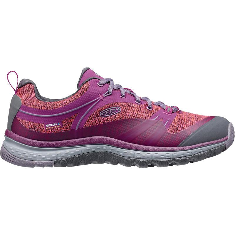 Chaussures de randonnée légère Terradora Wp Pourpre foncé/Sauge pourpre