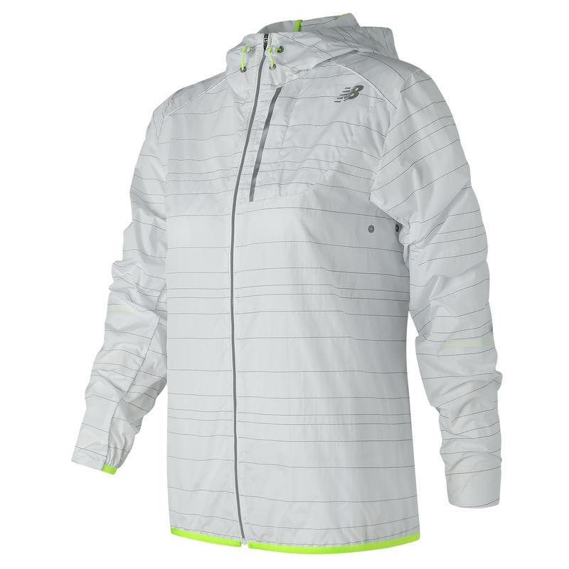 Manteau compact réfléchissant Lite Blanc