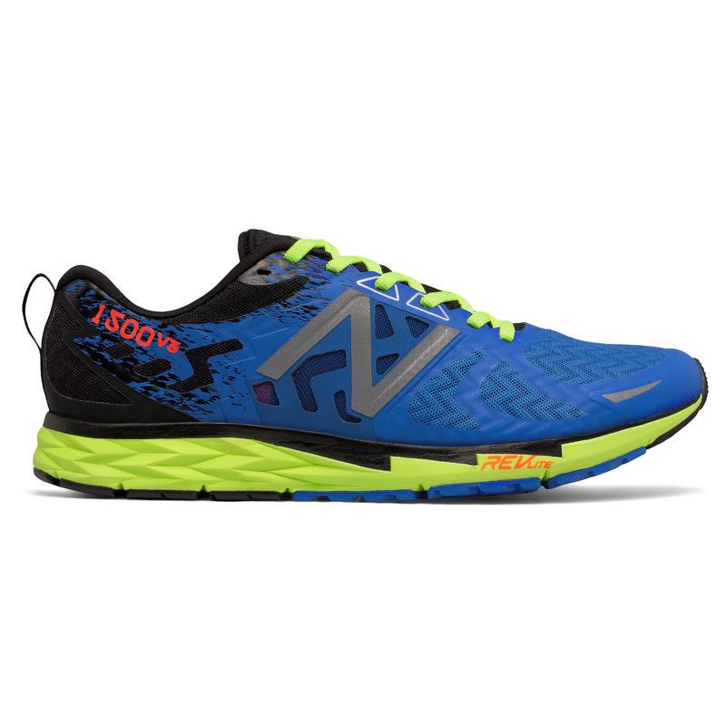 Chaussures de course 1500 v3 Bleu électrique/Lueur lime