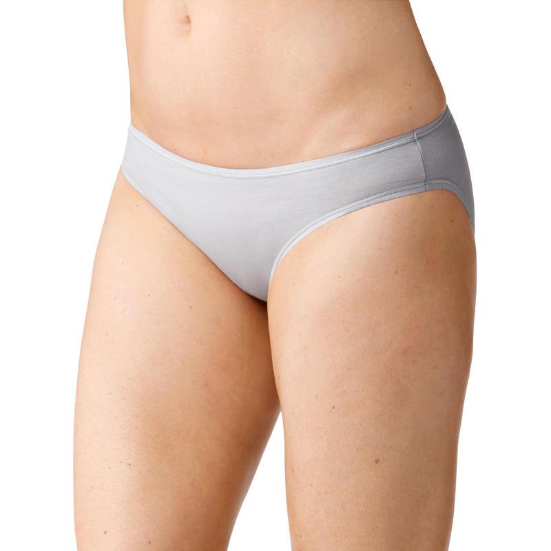 Culotte bikini Merino 150 Pattern Gris cailloux