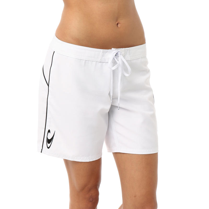 Short de surf Atlantic Blanc