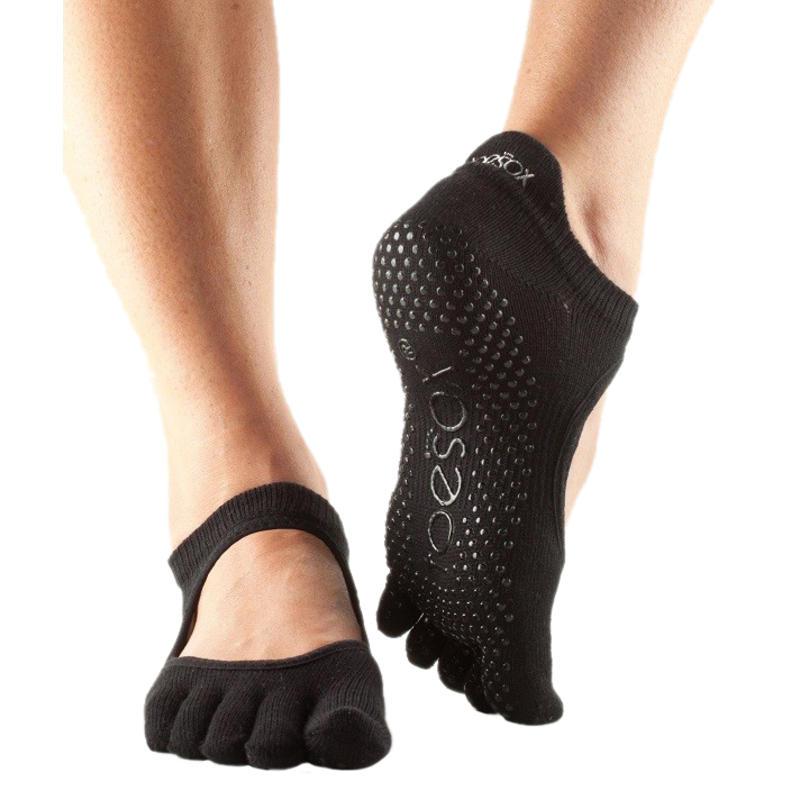 Chaussettes à orteils séparés Bellarina Noir
