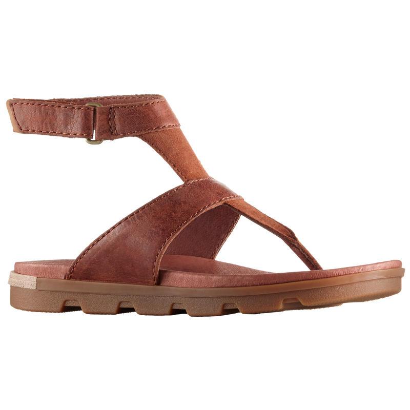 Sandales avec bride de cheville Torpeda Brun rustique/Cordovan