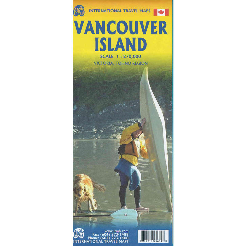 Vancouver Island Map 7th Edition
