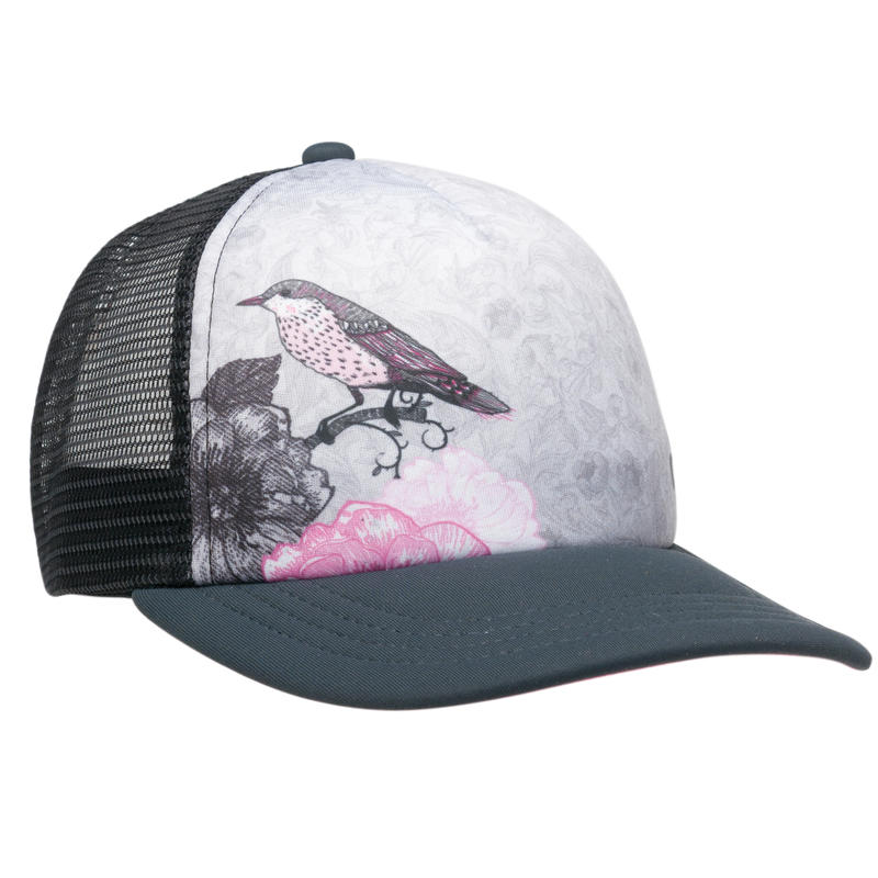 Chirp Trucker Hat Black