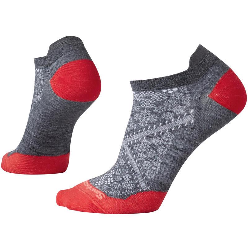 Chaussettes ultra légères PhD Run Micro Gris moyen