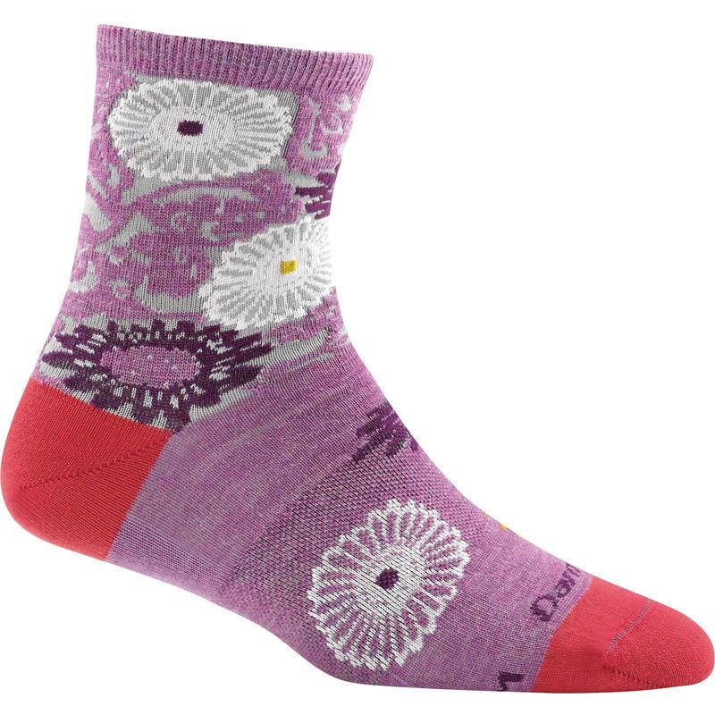 Chaussettes courtes Floral Violet