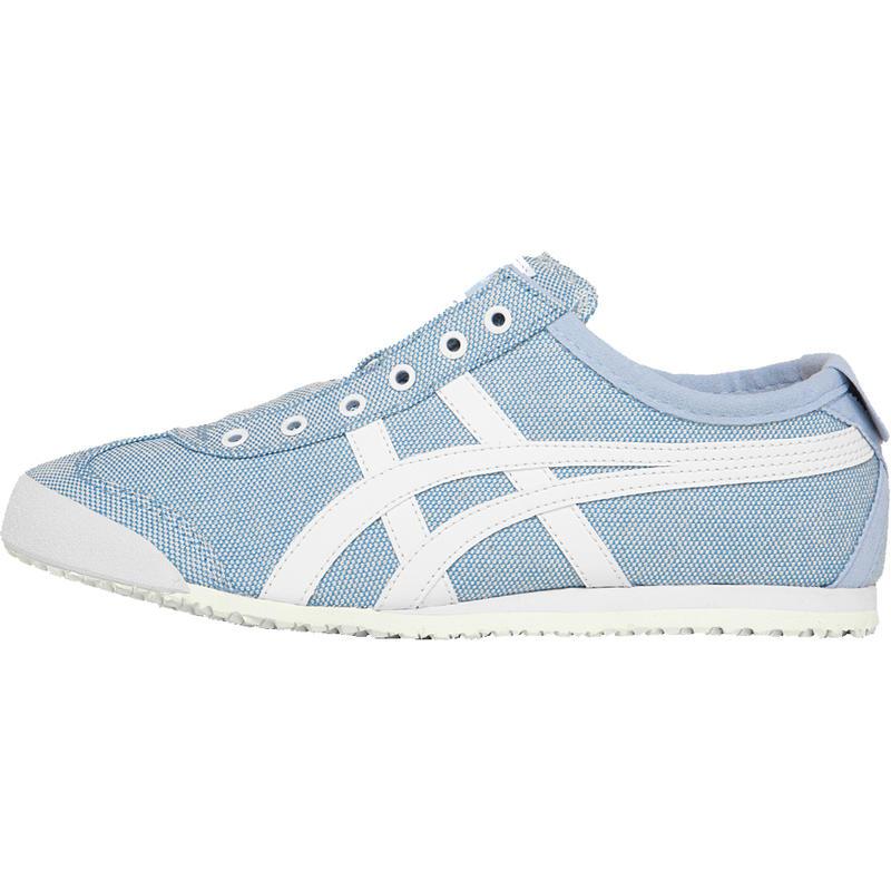 Chaussures Mexico 66 sans lacets Corydalis bleu/blanc