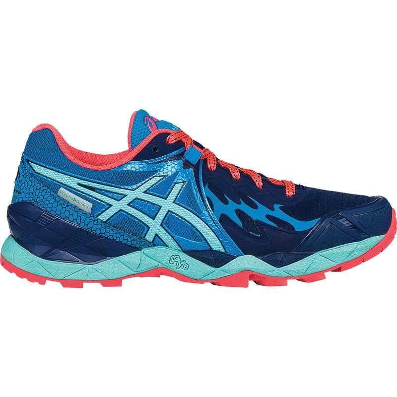 Chaussures de course sur sentier Gel-Fujiendurance Bleu indigo/Éclaboussures aqua