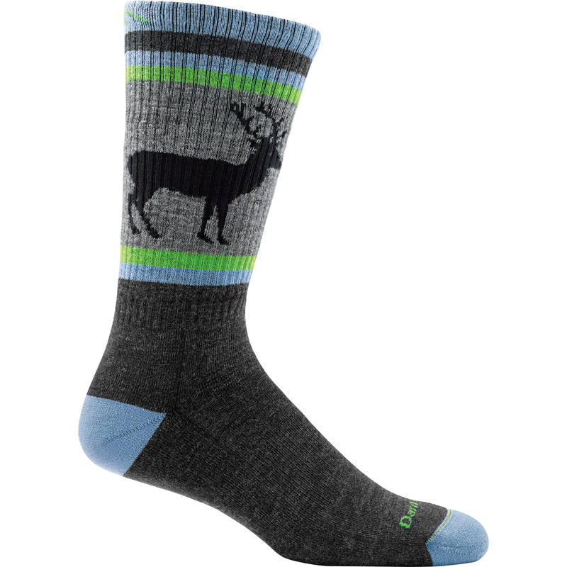 Uncle Buck Midweight Hike Sock Charcoal