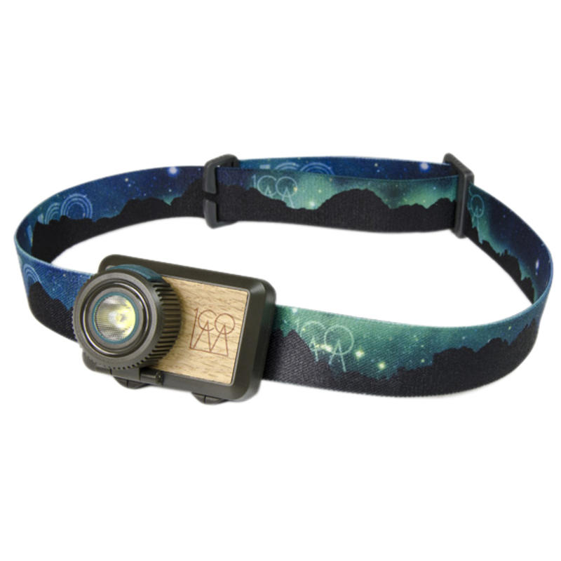 Hundred Headlamp Northern Lights