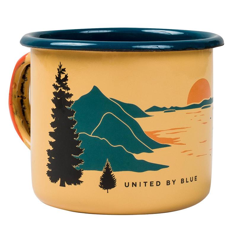 Inlet Enamel Steel Mug Yellow