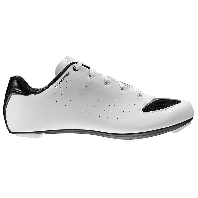 Chaussures de vélo Échappée Blanc/Noir