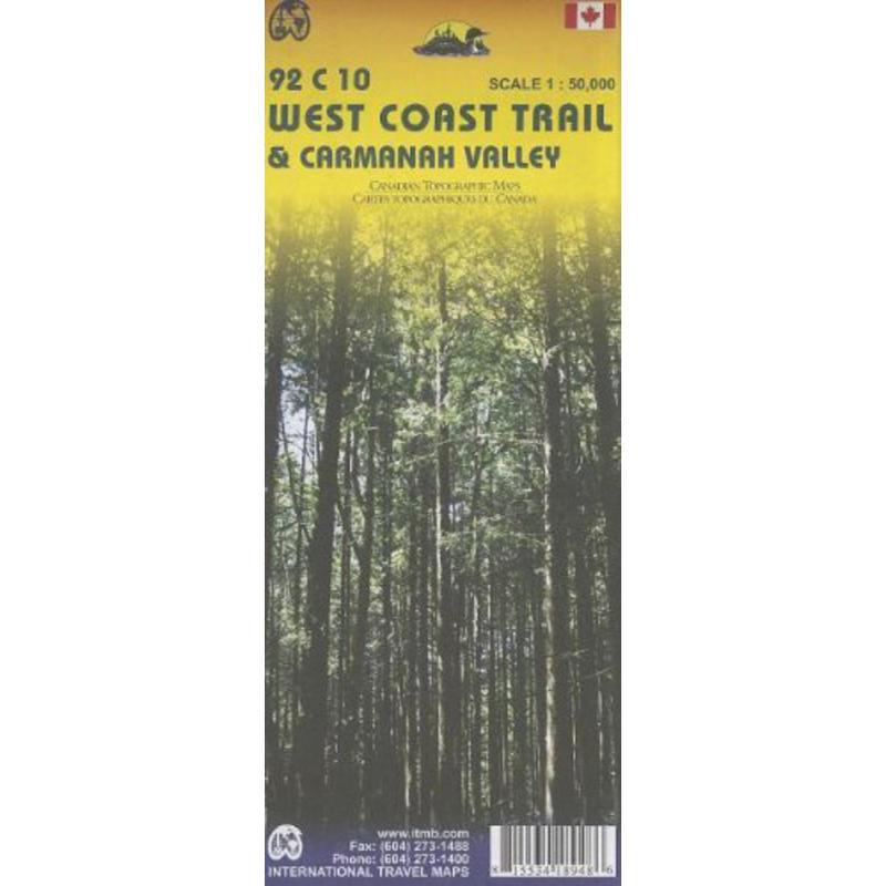 West Coast Trail Map 4th Edition