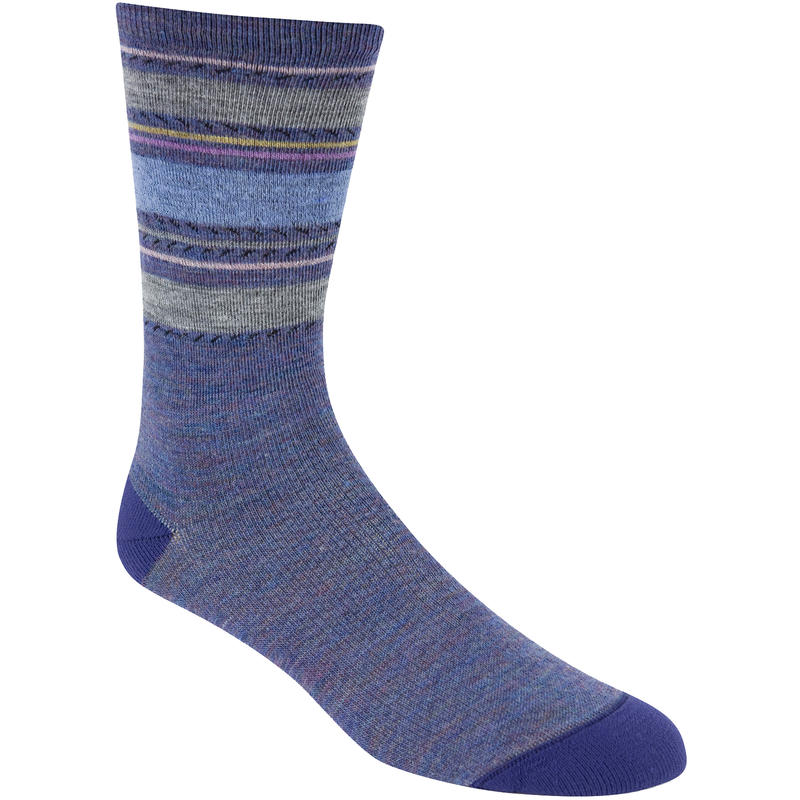 Santa Fe Fusion Socks Blue Heather