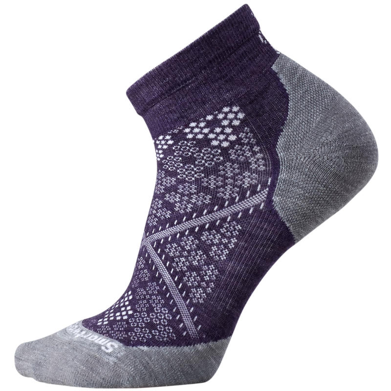 Chaussettes PhD Run Light Elite Pourpre montagne