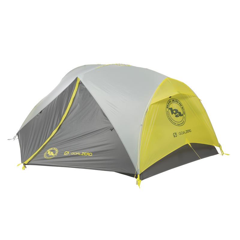 Tente Krumholtz UL2 mtnGLO avec système Goal Zero Argent/Gris