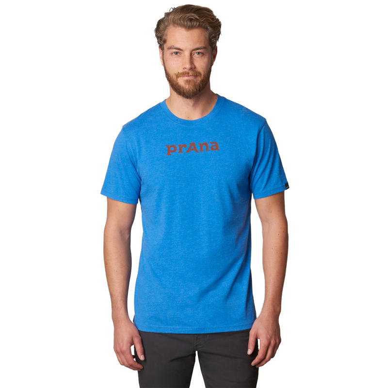 T-shirt Logo Bleu classique