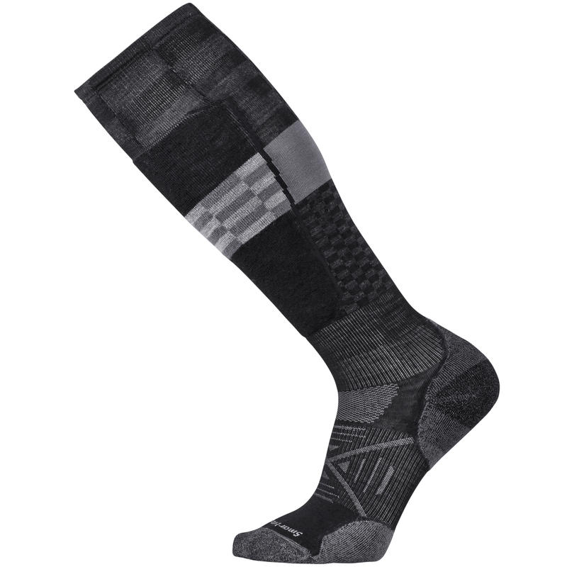 Chaussettes de ski PhD Ski Light Elite Pattern Noir