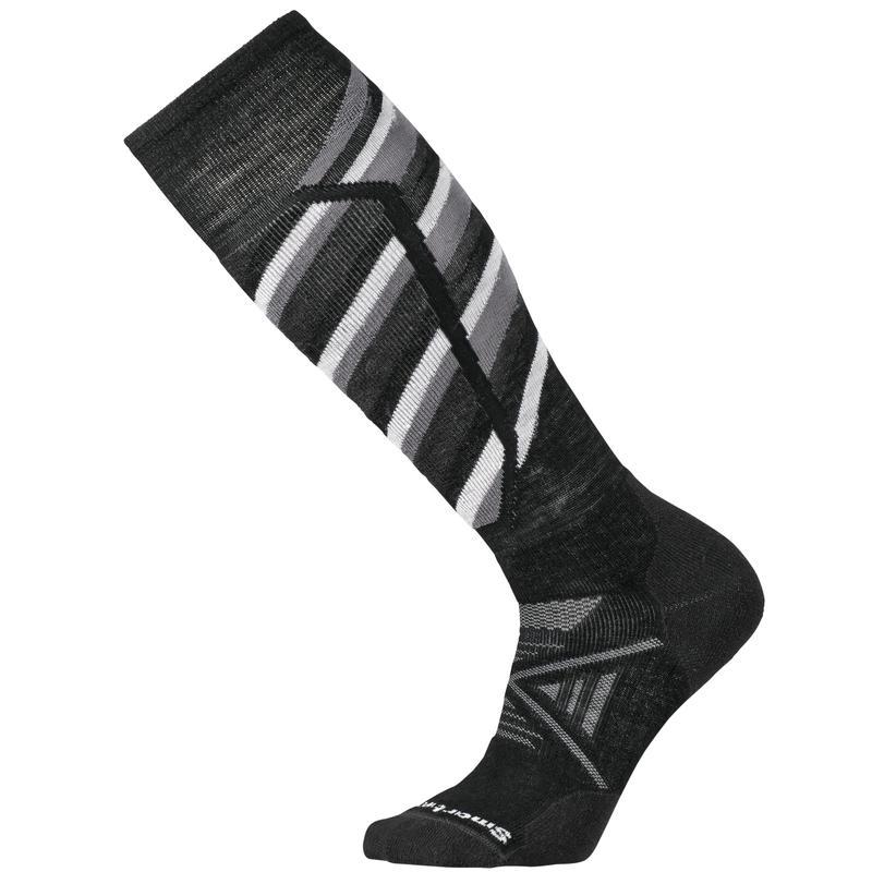 Chaussettes de ski PhD Ski Medium Pattern Noir