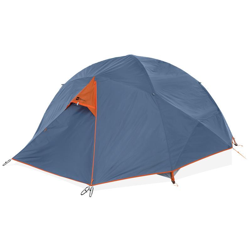 Tente Wanderer 2 Bleu fumée/Carotène