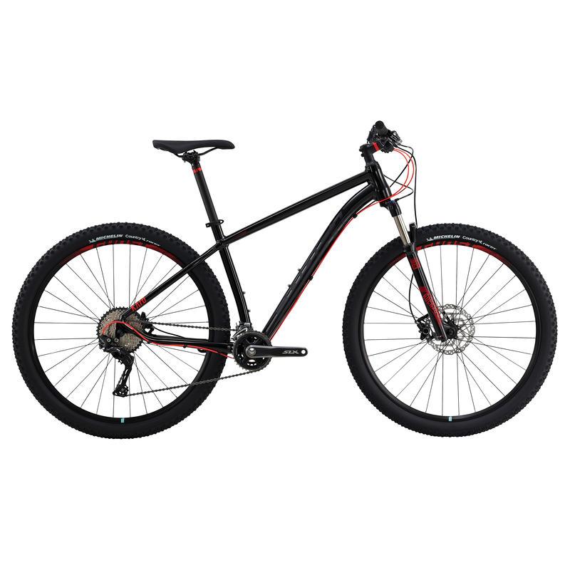 Vélo Kato 9 (29 po) Noir/Rouge néon