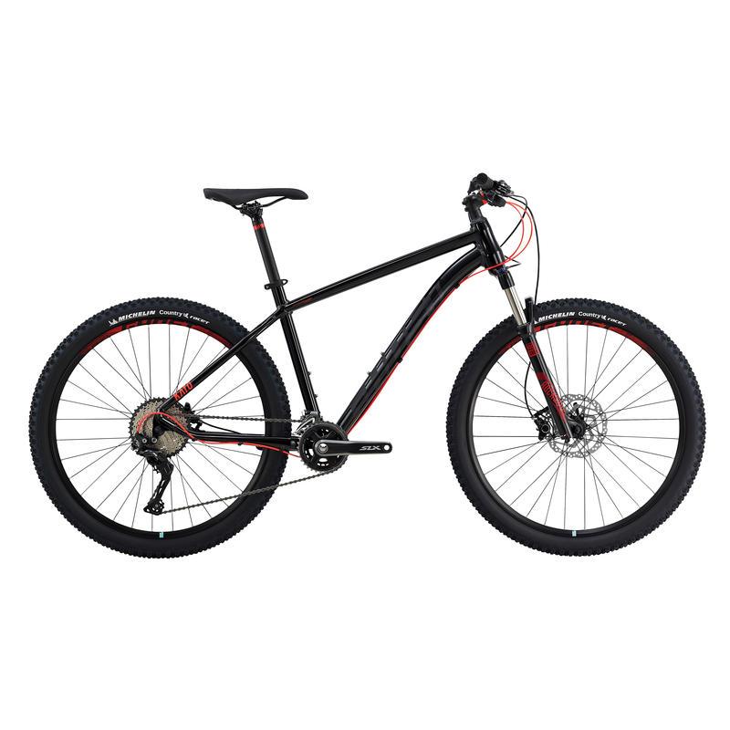 Vélo Kato 9 (27,5 po) Noir/Rouge néon