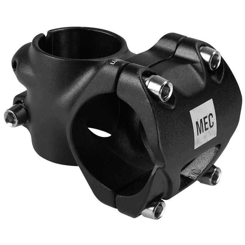 Potence MTB (35 mm 0 degré) Noir
