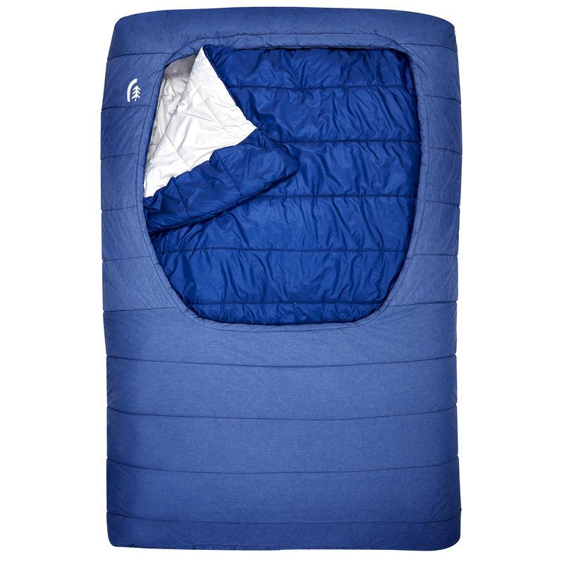 Sac de couchage Frontcountry bed double -3 °C Bleu profond